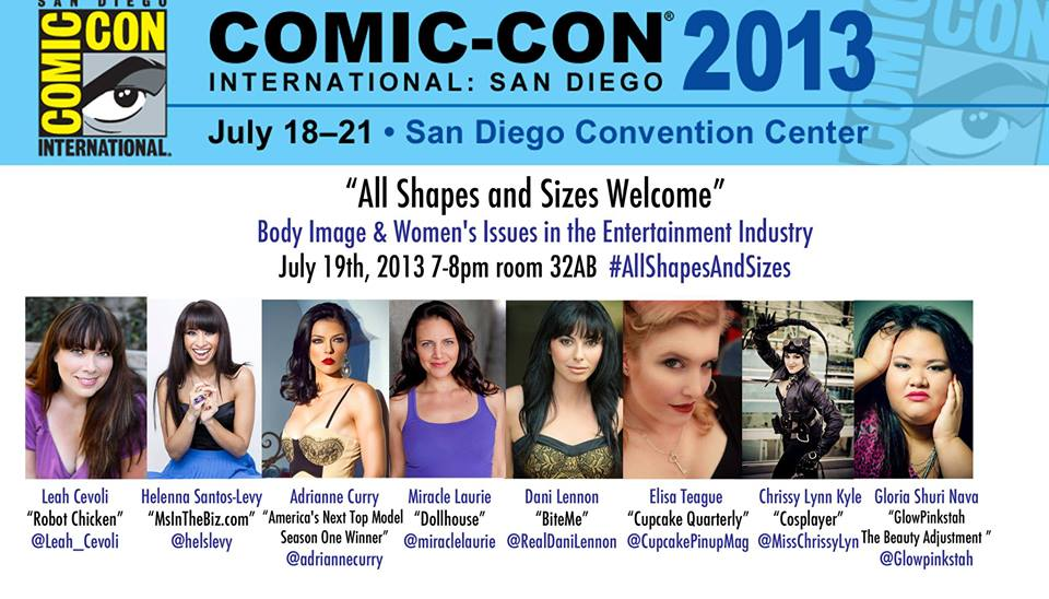 All Shapes and Sizes Welcome at SDCC