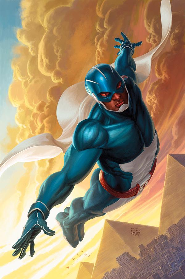 Skyman Takes Flight