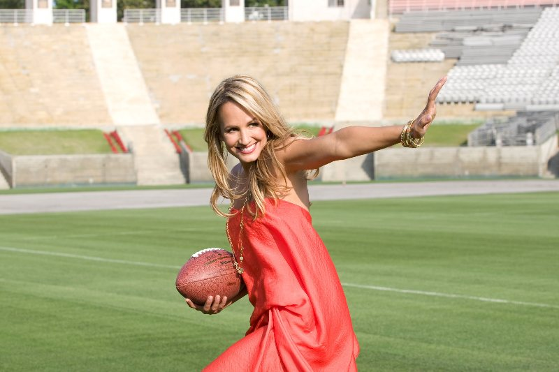 2 Time Emmy Winning Sports Broadcaster.  Host of American Ninja Warrior and on the NFL Network and lets just say it, the most beautiful Sports reporter of All Time!  ESPN's Jenn Brown