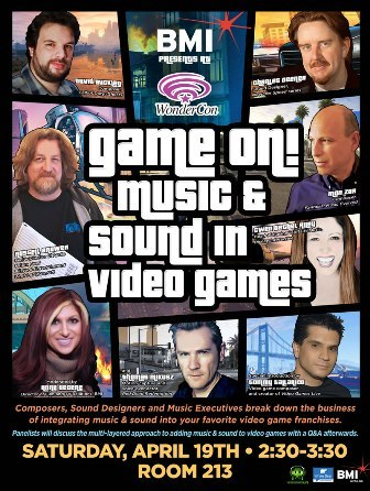 2 Days to WonderCon and Its Game On! Music and Sound in Video Games