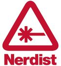 Nerdist Logo NERDIST written