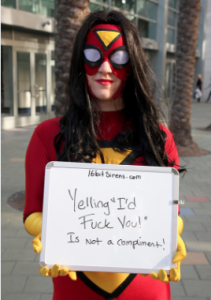 CosPlay=/=Consent-SpiderGirl