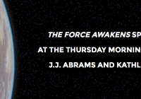 Rise and Shine with J J Abrams and Kathleen Kennedys Opening Thurs Morning Panel at Star Wars Celebration