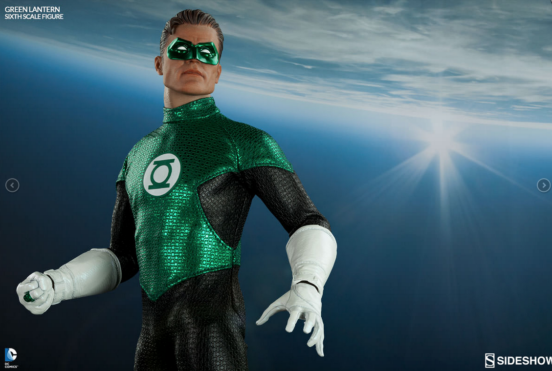 Dont Be Green with Envy… Get Your Own Green Lantern 6th Scale Figure by Sideshow