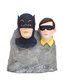 Factory-Entertainment-Batman 1966 Dynamic Duo Color Monolith