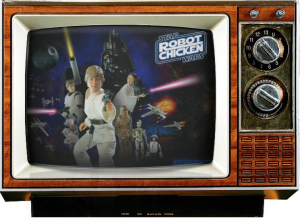 Robot chicken-star wars-saturday morning cereal-console