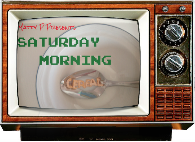 Saturday Morning Cereal TV logo TV Console