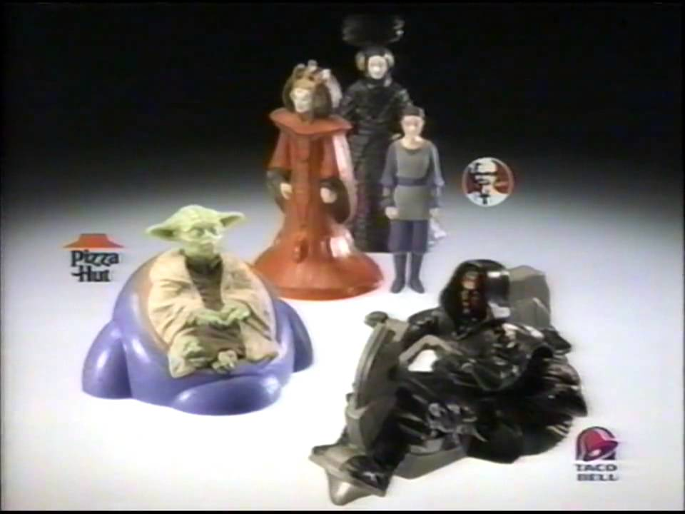 TacoBell Pizza Hut KFC Star Wars Toys