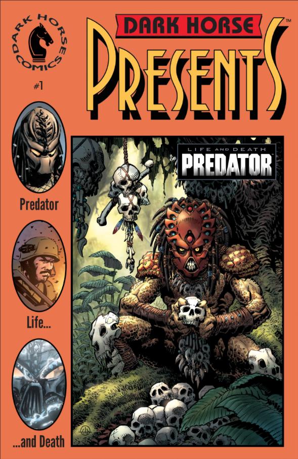 DarkHorse-Presents-Life and Death-Predator-Chris-Warner-Varient Cover