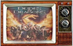 SMC-Dudes and Dragons Poster