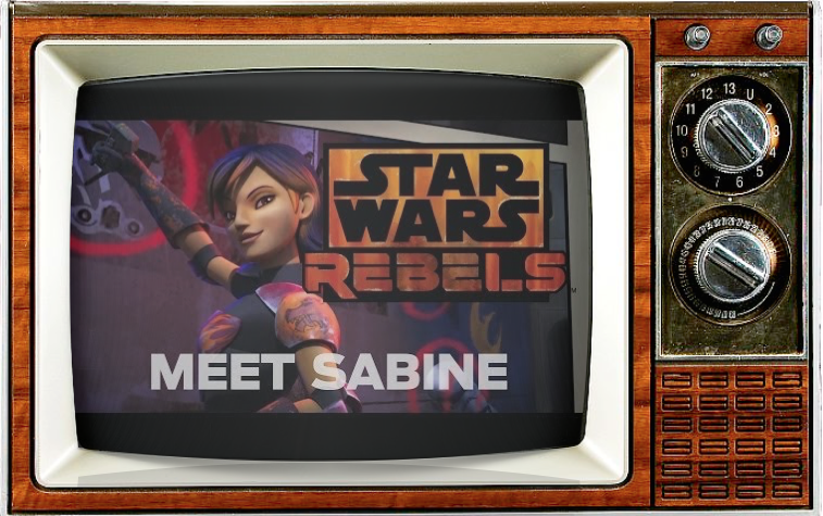 Tiya Sircar StarWars Rebels Meet Sabine DisneyXD SMC TV