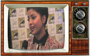 Tiya Sircar StarWars Rebels SDCC press line SMC TV