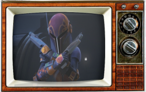 Tiya Sircar as Sabine StarWars Rebels DisneyXD SMC TV