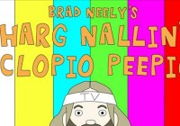 This show Hates You! Brad Neely, discuss his new animated sketch show, Harg Nallin' Sclopio Peepio