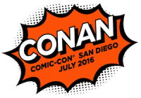 CONAN THE COMEDIAN Returns to SDCC w/ A-List Guest Line-up