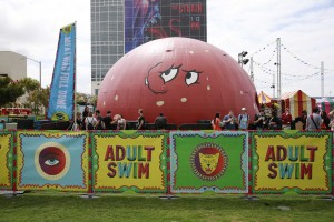 Adult Swim on the Green at Comic-Con International: San Diego 2015.