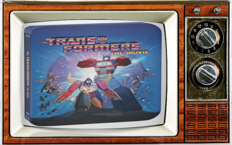 SMC TV SDCC Alternate Show 2016 Transformers The Movie Steel Book Blu-ray