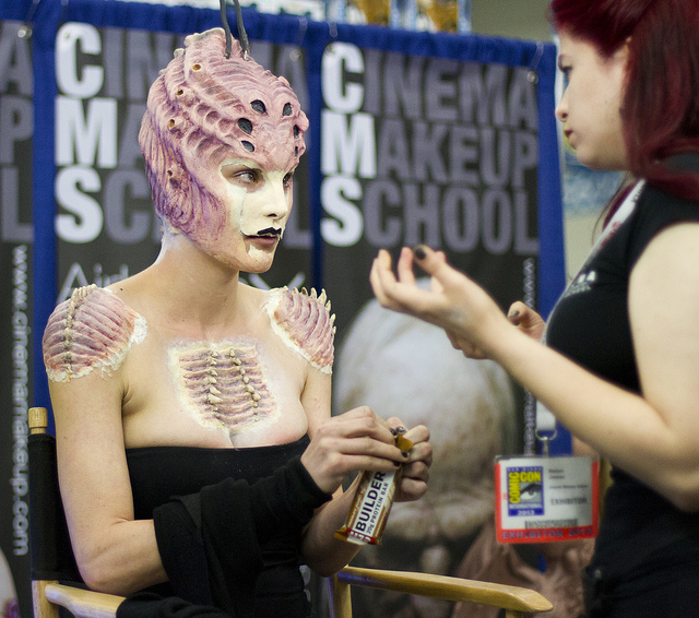 Exhibit Hall Highlight! CINEMA MAKEUP SCHOOL at Booth 4429 SDCC 2017