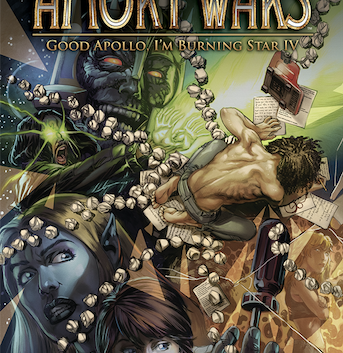 """Claudio Sanchez Brings Sci-Fi Odyssey """"The Amory Wars"""" to San Diego Comic Con"""