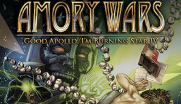 "Claudio Sanchez Brings Sci-Fi Odyssey ""The Amory Wars"" to San Diego Comic Con"