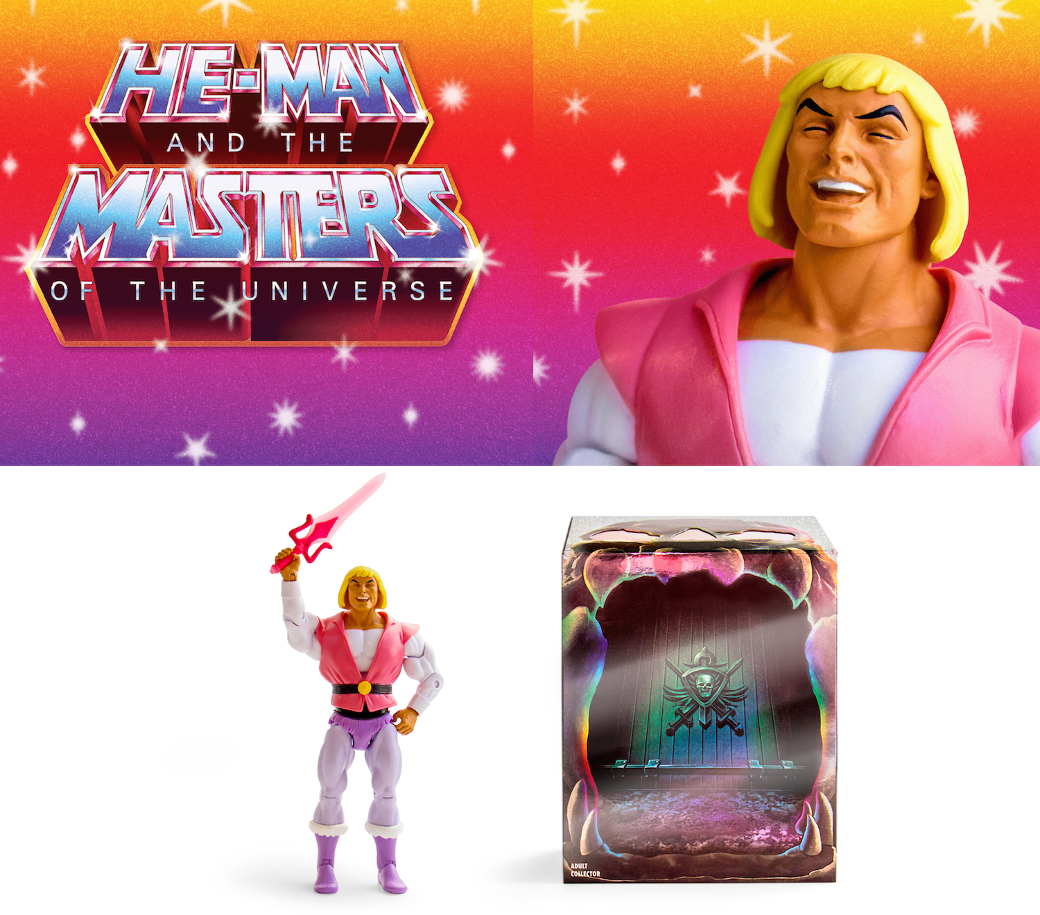 What's Going ON at Hordak's Pop-up Lair? Prince Adam Exclusive Figure SDCC 2018!