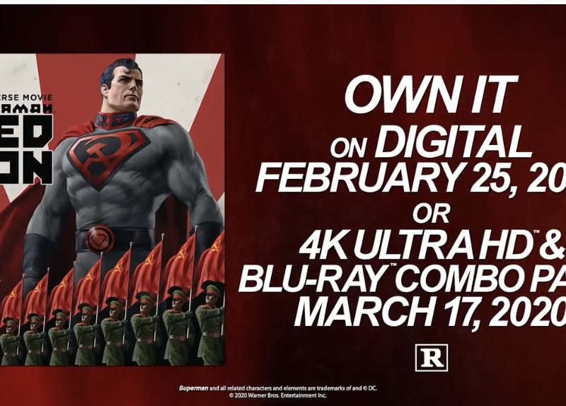 SUPERMAN: RED SON Lands From Russia with Love!
