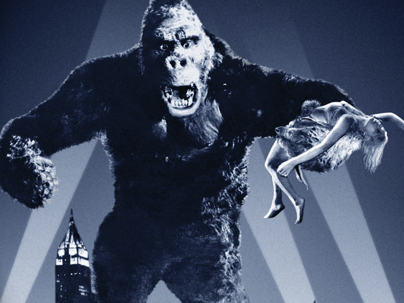 A KING KONG Huge Return to Movie Theaters for A One Day Only a Fathom Event
